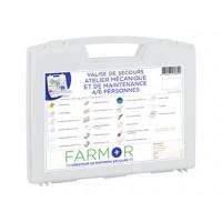 COFFRET DE SECOURS FARMOR ATELIER MÉCANIQUE ET DE MAINTENANCE 8/10 PERSONNES-ATM2135PP