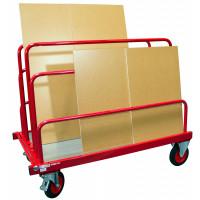 Chariot porte-panneaux 500 kg 2 ridelles hauteur 800 mm FIMM - 800000083