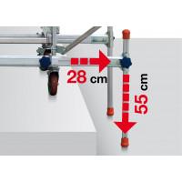 2 barres stabilisatrices FACAL pour échafaudage ALTO - ALT-LIV
