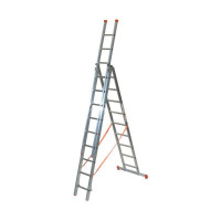 Echelle transformable FACAL PRO 3x9 haut. travail max. 7,80 m GENIA - G300-3