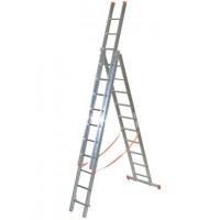 Echelle transformable FACAL PRO 3x10 haut. travail max. 8,70 m GENIA