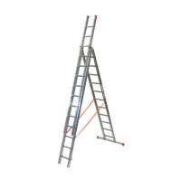Echelle transformable FACAL PRO 3x11 haut. travail max. 9,24 m GENIA - G350-3