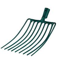Fourche à cailloux 9 dents manche bois LEBORGNE - 424351 (Outils de jardin à main)