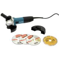 MEULEUSE MAKITA 125MM 720W ANTI-REDEMARRAG+COFF PLAST+KIT  - GA5030RSP5