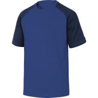TEE-SHIRT 100% COTON GENOA DELTA PLUS Bleu Roi-Bleu Marine-GENOABM0