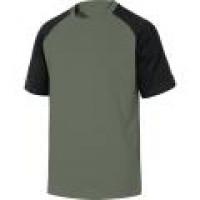 TEE-SHIRT 100% COTON GENOA DELTA PLUS Vert-Gris-GENOAVE0 (T-shirts de travail)