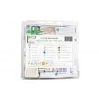 Kit de réassort pour armoire à pharmacie MÉDECINE DU TRAVAIL FARMOR -KIT 5018 MT