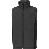 GILET DELTA PLUS SOFTSHELL POLYESTER 3 COUCHES LAMINEES GRIS - HALDEGR0