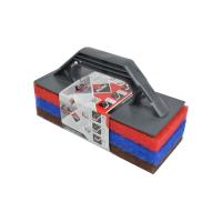 Support + 3 abrasifs Rubi - 20900