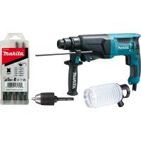 Perforateur SDS-Plus 720 W 23 mm MAKITA + accessoires -HR2300X9