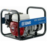 Groupe électrogène Portable Power HX 3000 2700 W équipé d'un moteur HONDA, d'un compteur horaire et kit différentiel SDMO - HX3000+R01