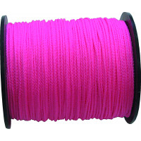 CORDEAU POLYPRO ROSE FLUO 1,5MM 100M