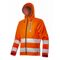 VESTE SOFTSHELL HV ORANGE FLUO - 170687970350