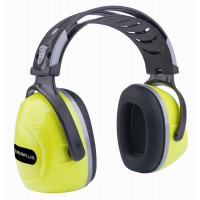 DELTA PLUS-CASQUE INTERLAGOS JAUNE FLUO ANTIBRUIT - SNR33dB -INTERJAFL