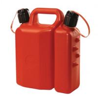 SODISE- Jerrican double usage avec bec verseur 1.5 et 3.5 litres homologué carburant - 18725