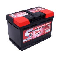 Batterie 12V 75Ah 750A 278x175x190 Gamme Rouge STECO PREMIER STECOPOWER - 206