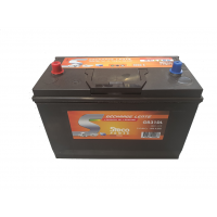 Batterie 110 Ah (20h) 330x172x240 Gamme STECO Décharge Lente STECOPOWER - L031GR31DL