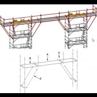 Pont de couvreur 15 m pour echafaufage ALTRAD AERIS 45 - L45-150-PC