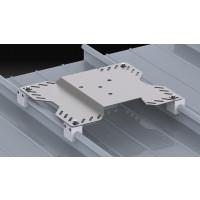 DELTA PLUS-  PLAQUE POUR BAC ACIER INOX- LV543