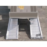 PAIRE DE RAMPES METALMEC 75 X 240 X 2500 1670 Kg - M076M07425S
