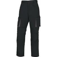 PANTALON DE TRAVAIL MACH2 EN POLYESTER / COTON NOIR GRIS DELTA PLUS-M2PA2NO0 (Pantalons de travail)