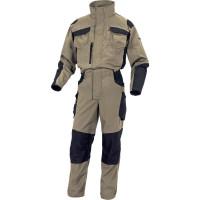 COMBINAISON MACH SPIRIT 60% COTON / 40% POLYESTER - 270 G/M² Beige-noir DELTA PLUS- M5CO2BN0