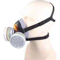 Demi-masque confort bi filtre prévu pour 2 galettes filtrantes de la série M6000 vendues séparément DELTA PLUS- M6400EGT
