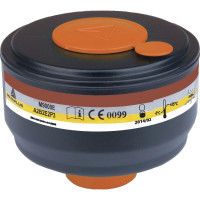 BOITE 4 CARTOUCHES FILTRANTES A GAZ A2B2E2P3 DELTA PLUS-M9000EAB2P3 (Masques respiratoires)