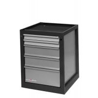 Meuble 4 tiroirs pour établis TABLIPRO 630x660x845 - MB4T