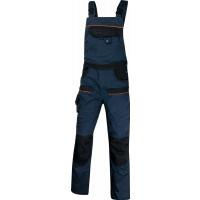 DELTA PLUS- SALOPETTE DE TRAVAIL MACH2 CORPORATE EN POLYESTER / COTON Bleu Marine / Noir - MCSALBM0
