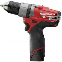 MILWAUKEE- M12 CDD - O Visseuse / perceuse 12V  2,0Ah (Livré sans batterie , ni chargeur) - 4933440400
