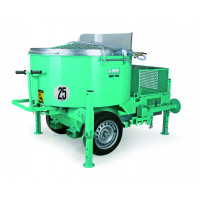 IMER-Malaxeur tractable sur chantier 750 L triphasé-MIX750