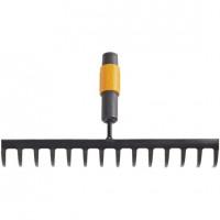 Râteau 14 dents courbes Quikfit™ FISKARS - 1000653 (Outils de jardin à main)