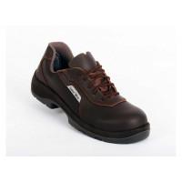 Chaussure de sécurité mixtes New S2 Marron SRC ESD GASTON MILLE -NHBM2