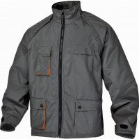BLOUSON MACH 2 POLYESTER ENDUIT PU MANCHES AMOVIBLES Gris / Orange DELTA PLUS NORTHWOOD - NORTHGR0