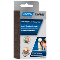 1 bloc mousse angle double NORTON 126*72*26 Grain moyen/ gros -66623308285