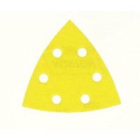 10 patins triangulaires abrasifs NORTON 6 trous Grain 120 - 66623379840