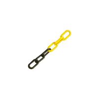 Chaîne bicolore NOIR ET JAUNE Ø 8 mm SOFOP TALIAPLAST ( vendu au métre ) - 530111