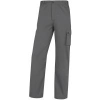 PANTALON DE TRAVAIL PALAOS COTON GRIS DELTA PLUS - PALIGPAGR0 (Pantalons de travail)