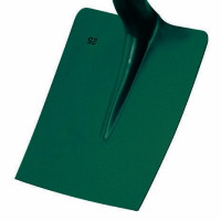 Pelle carrée tôle 25 cm sans manche LEBORGNE- 006250 (Terrassier)