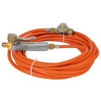 Set composé d'un manche à gâchette + tuyau en caoutchouc de 10 m +détendeur Haute Pression 4 bar GUILBERT EXPRESS -6196