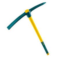 Pioche terrassier douille ronde sans manche (2kg) LEBORGNE-050200 (Maçon)