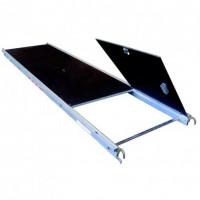 Plancher alu/bois avec trappe 1,80 m 0,75 m (200 Kg/m²) Classe 3 ALTRAD AERIS45 - Q8623