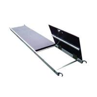 Plancher bois / alu 1 trappe - plinthes intégrées pour échafaudage roulant