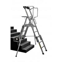 CENTAURE - Télescopique PL SCOP 3 à 5 marches, hauteurs de travail 2m80 à 3m31 - 413923
