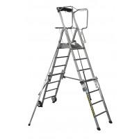 CENTAURE - Télescopique PL SCOP 4 à 7 marches, hauteurs de travail 3m07 à 3m83 - 413924