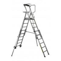 CENTAURE - Télescopique PL SCOP 6 à 9 marches, hauteurs de travail 3m54 à 4m30 - 413926