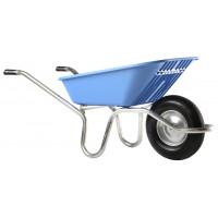 Brouette Haemmerlin Pro Select Plume 100L Polypro bleue Roue Gonflée - 305141501
