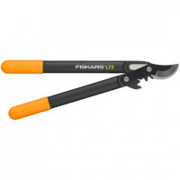 Coupe-branches PowerGear™ II (S) L72 à crémaillère et à lame franche FISKARS - 112200 (Outils de jardin à main)