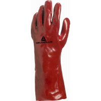 DELTA PLUS-GANT PVC ROUGE LONGUEUR 35 CM-PVC733510